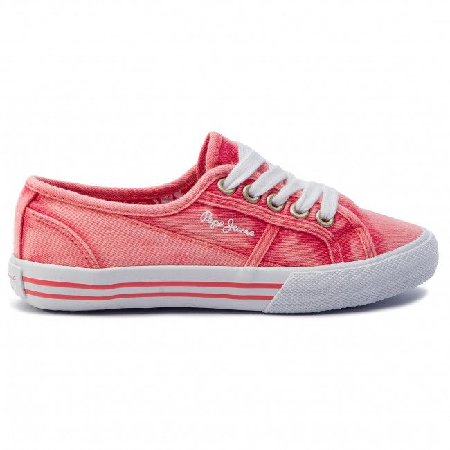 PEPE JEANS BAKER CANVAS CORAIL
